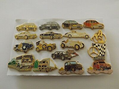 Lot Collection 17 Pins Pins Véhicules Mercedes Arthus Bertrand