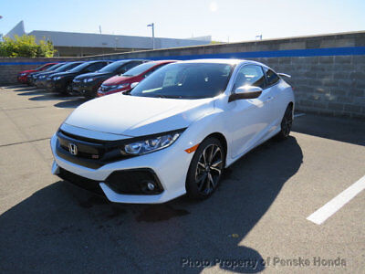 Honda Civic Si Coupe  New 2 dr Coupe Manual Gasoline 1.5L 4 Cyl White Orchid Pearl