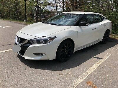 2017 Nissan Maxima SR-Midnight 2017 Nissan Maxima SR-Midnight Edition - LOW MILES   Like New   Loaded!