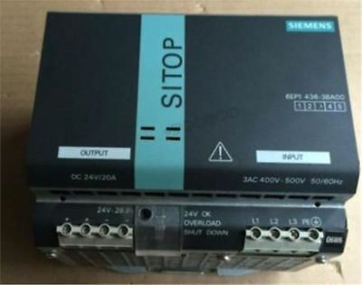 Used 1Pc Siemens 6EP1 436-3BA00 6EP1436-3BA00 Tested rq