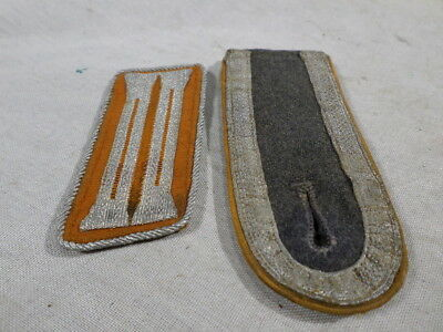 WWI German Air Force Collar Insignia and Shoulder Board Inflight Paratrooper