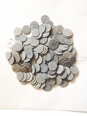 10 Lot of Uncleaned Roman coins which are Ungraded also  !!