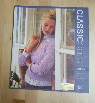 Rowan Classic Cafe Knitting Pattern Book One 1 12 Designs By