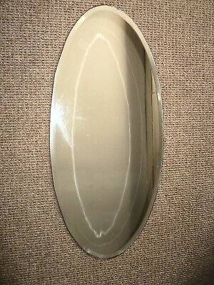 Antique Bevelled Egde frameless oval mirror