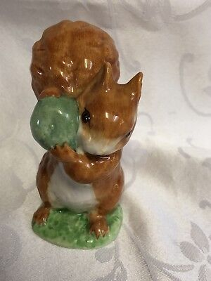 BEATRIX POTTER SQUIRREL NUTKIN Figurine - Frederick Warne 1948 Beswick England