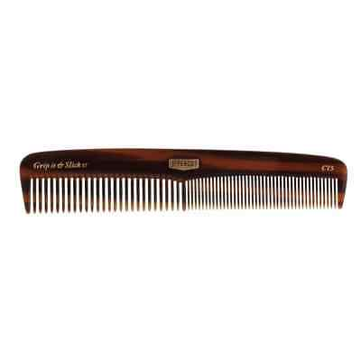 UPPERCUT DELUXE Grip It and Slick It CT5 Tortoise Shell Pocket Comb NEW