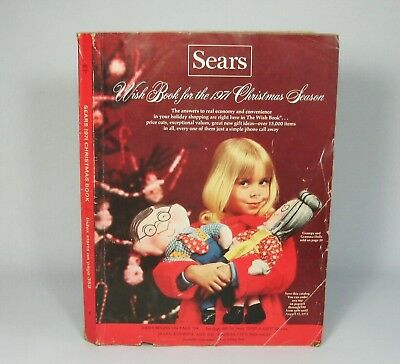 w Vintage 1971 SEARS Christmas WISH BOOK Catalog Toys Clothes Complete