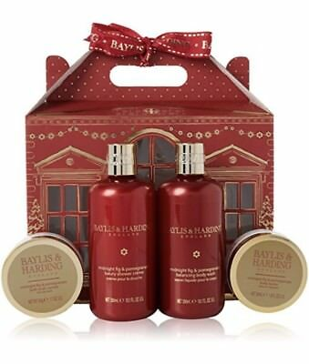 Baylis and Harding Midnight Fig & Pomegranate House of Pampering Gift Set. New