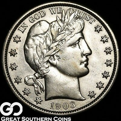 1903-O Barber Half Dollar, Better Date New Orleans Issue ** Free Shipping!
