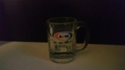 8 oz A&W glass mug