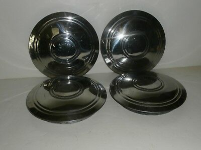 Vintage Dog Dish Hubcaps Set of 4 Chevy Ford Dodge ??