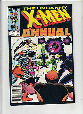X-Men Annual #7 1.25 Canadian Newsstand Price Variant VF