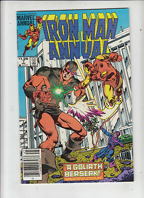 Iron Man Annual #7 1.25 Canadian Newsstand Price Variant fn/vf