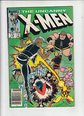 The Uncanny X-Men #178 75 Cent Canadian Newsstand Price Variant GD+