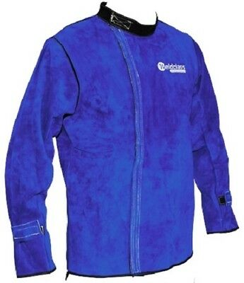 WeldClass Promax BL7 Leather Welding Jacket (Medium) Protection PPE