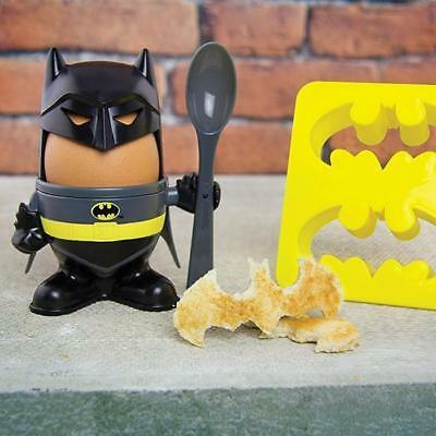 Dc Comics Batman Egg Cup And Cutter Set **free Post**