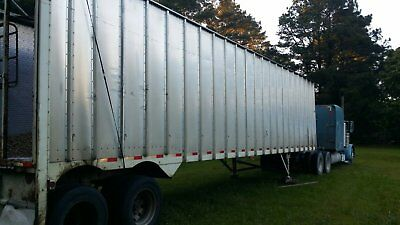 used enclosed wood chip trailers