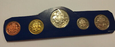 Barbados Proof Coins Sealed