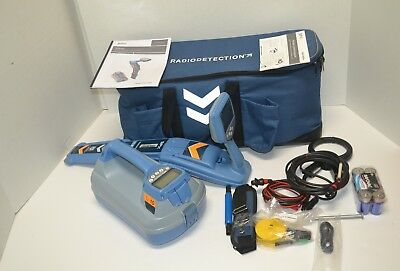 Radiodetection Rd8100 Tx10  Pipe Cable Locator 90 Day Warranty