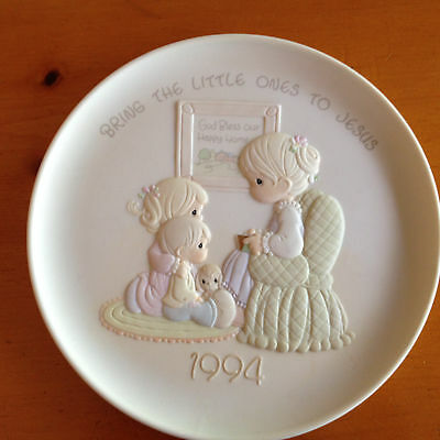 Precious Moments Bring The Little Ones To Jesus Collector Plate Limited Edition