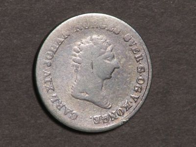 NORWAY 1842 4 Skilling Silver
