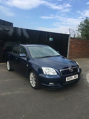 Toyota Avensis Petrol 2005 Full Leather All Electric