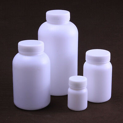 5pcs 300ML Plastic round bottle plastic sample bottle HDPE bottle Reagent bottl