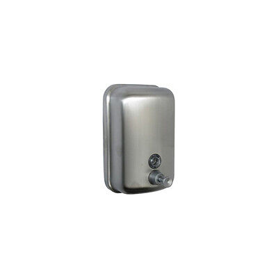 Bathroom Accessories Wall Mounted Soap Dispenser Satin Stainless Steel - 80041