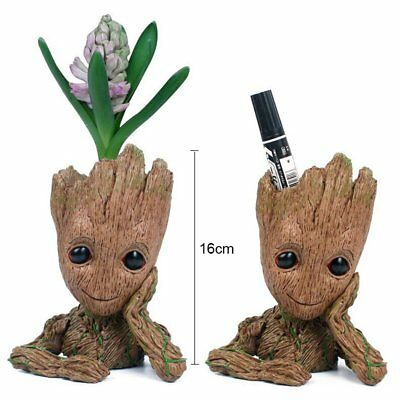Guardians Of The Galaxy Vol. 2 Baby Groot Flowerpot Pen Pot Figure Gift Toy 16CM