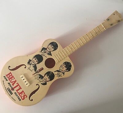 The Beatles - New Sound Childs Guitar - 1960 - Selcol - Made In England.