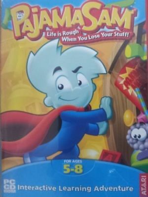 Pajama Sam Life Is Rough When You Lose Your Stuff Pc  Mac Game For Kid Age 5-8
