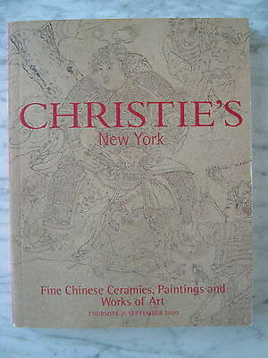 Fine Chinese Ceramics,paintings And Works Of Art Christie's New York Sept 2000