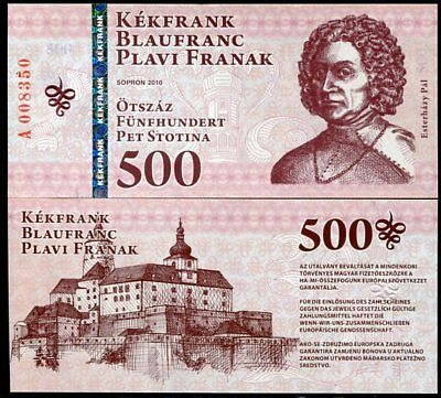 Hungary 500 Forint 2010 Sopron P Nl Private Issued Unc Nr