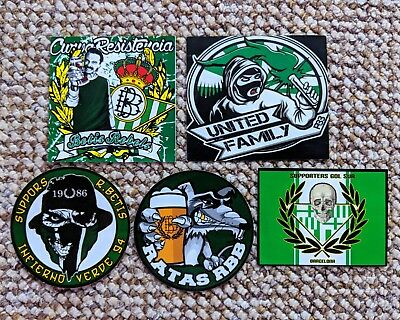 Real Betis Ultras Stickers Gol Sur
