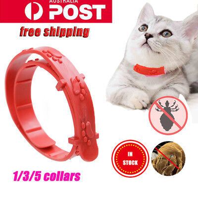1 3 5pcs Flea Collar Pet Cat Kitten Puppy Dog Adjustable Anti Tick Pest Control