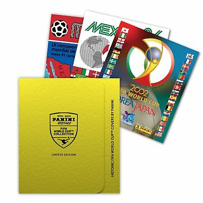 Panini Heritage FIFA World Cup Sticker Collection Lithographic Prints - Limit...