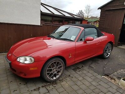 Mazda MX5 red, spares or repairs