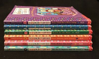 Lot of 6 (#1-6) AMAZING DAYS ABBY HAYES Series Matched Set Chapter Books