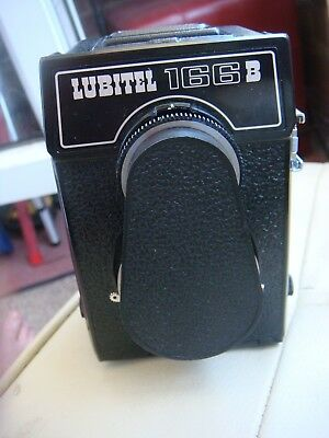 Lubitel 166 B - Russian Medium Format TLR Camera - Untested