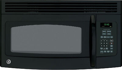 GE Spacemaker JVM1540DMBB 1.5 cu. ft. Over-the-Range Microwave Oven Black