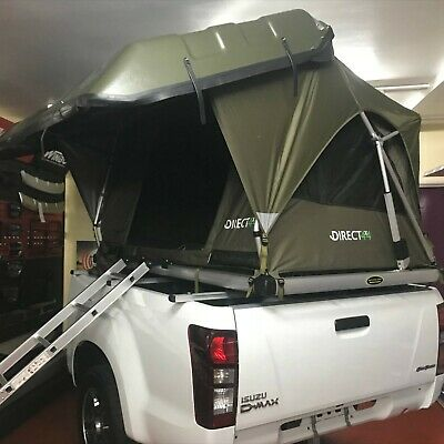 Pathfinder II Solar Power Remote Control Hard Shell Expedition Camping Roof Tent