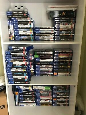 PS4 Games - Choose from Popular Titles & FREE POSTAGE - LOT 2