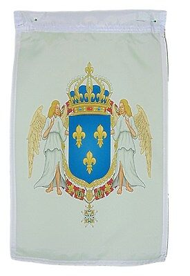 French France House Of Valois Coat Of Arms Garden Flag 12 X 18 Inches One Sided