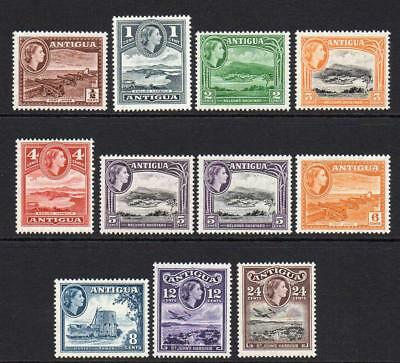 Antigua Part Set of Stamps c1953-62 Mounted Mint