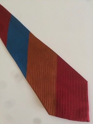 VERSUS GIANNI VERSACE cravatta tie 100% seta silk original new Made in Italy