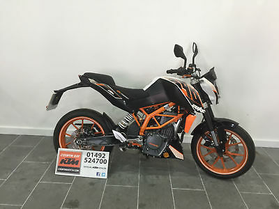 2014 KTM 390 Duke, A2 Licence, Street, Naked, Ergo Seats, anodised accessories