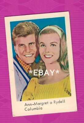 Ann-Margret and Bobby Rydell - 1965 Swedish vintage trading card