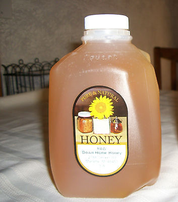 100% RAW PURE Natural Clover Honey (18 Lbs) Nutritional