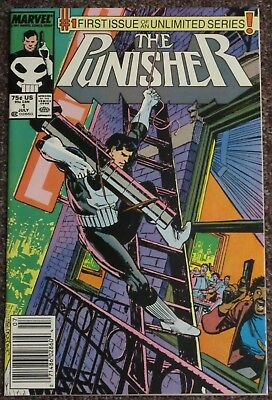 The Punisher #1 1987 Series NM