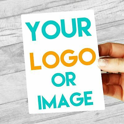 Custom Logo PERSONALISED Labels 99.1mm x 139mm extra large stickers